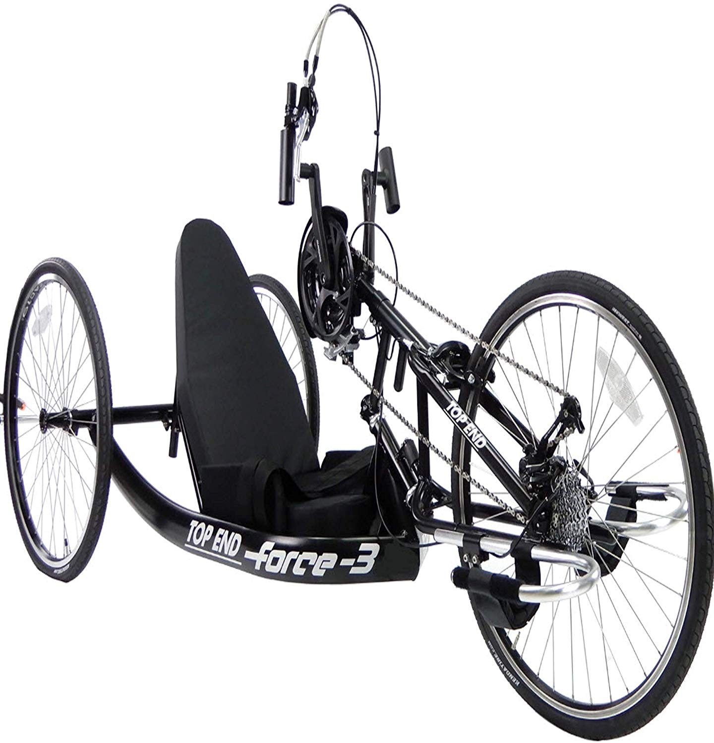 Invacare Top End 1181147 Force3 17 inche Seat width Black Stock Handcycle