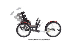 Mobo Shift 3 Wheel Recumbent Bicycle Trike