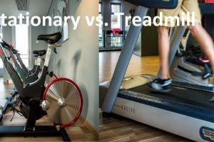 Stationary Bicycle vs. Treadmill