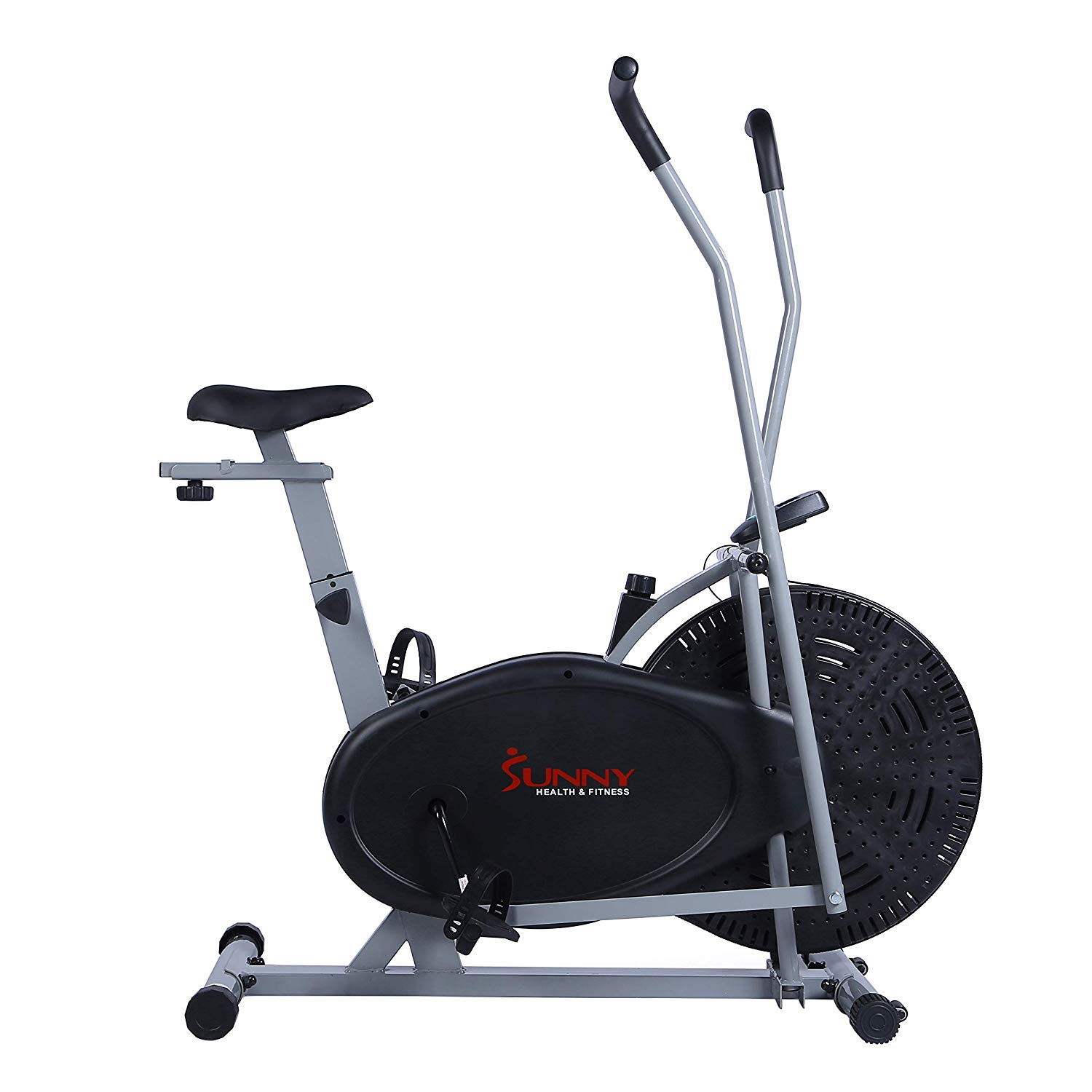Sunny Health & Fitness Air Resistance Hybrid Fan Bike - SF-B2618