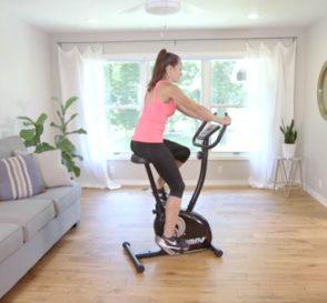 cardio exercise on exercise bikes