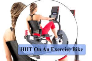 HIIT on an exercise bike