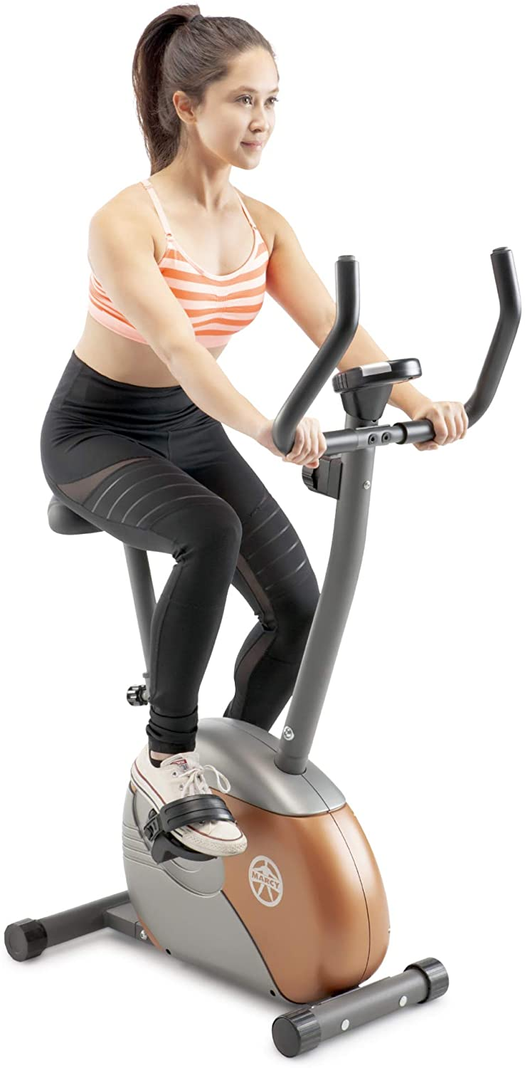 Marcy Upright Exercise Bike with ME-708