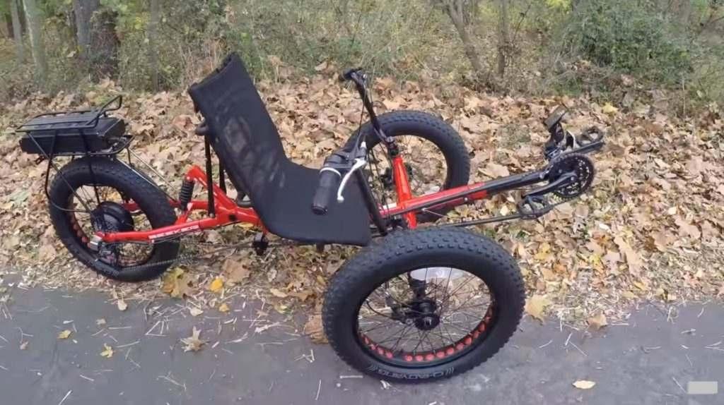 Three-wheel Recumbent