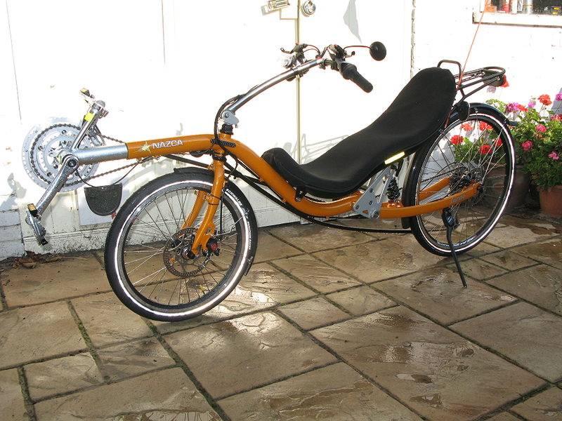 Two-wheel Recumbent