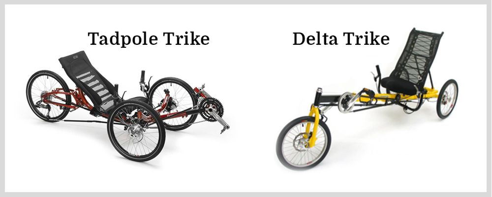Types of Recumbent Trikes