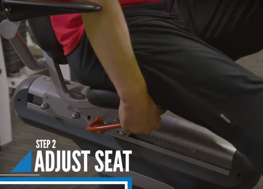 Easy Adjust the Bike Seat