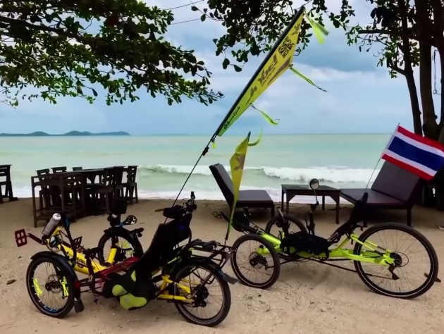 Long Distance Riding on a Recumbent Trike