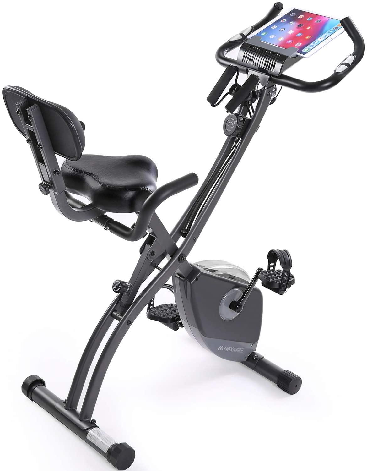 Exercise Bike Stationary Bike Foldable Upright Recumbent