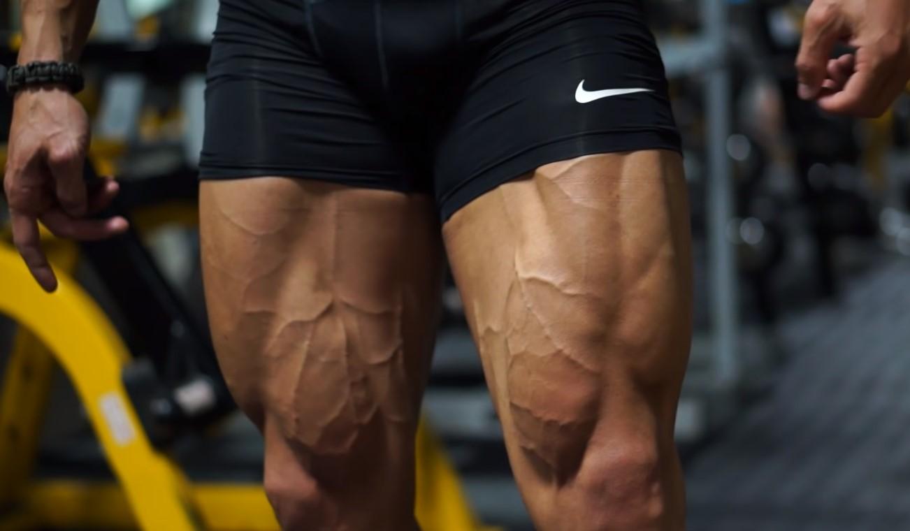Big Quads From A Stationary Bike
