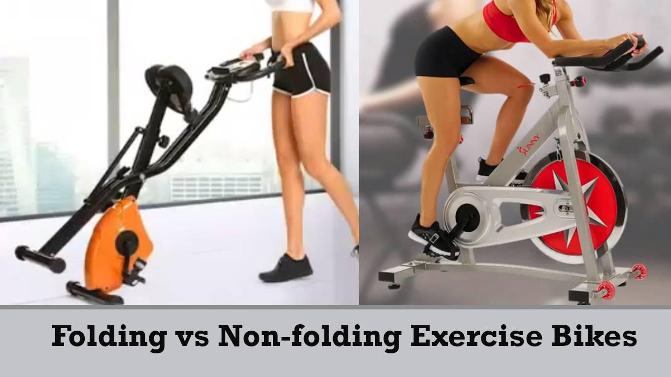 Folding VS Non-Folding Exercise Bikes